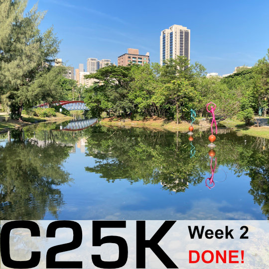 Couch 2 5K Week Two Done!!